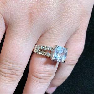 Vintage cz ring